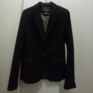 Maison scotch wool blend blazer - Black